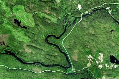 Aerial Coastal Mapping and Marine Fishing Thorne River