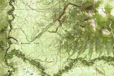 Alaska Aerial Mapping Iditarod Topographic Overlay