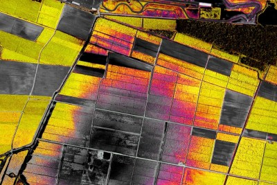 Precision Agriculture Mapping Crop Damage Radius