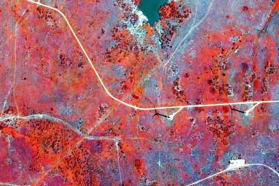 Rangeland Brush Management Mapping Infrared Windfarm Habitat