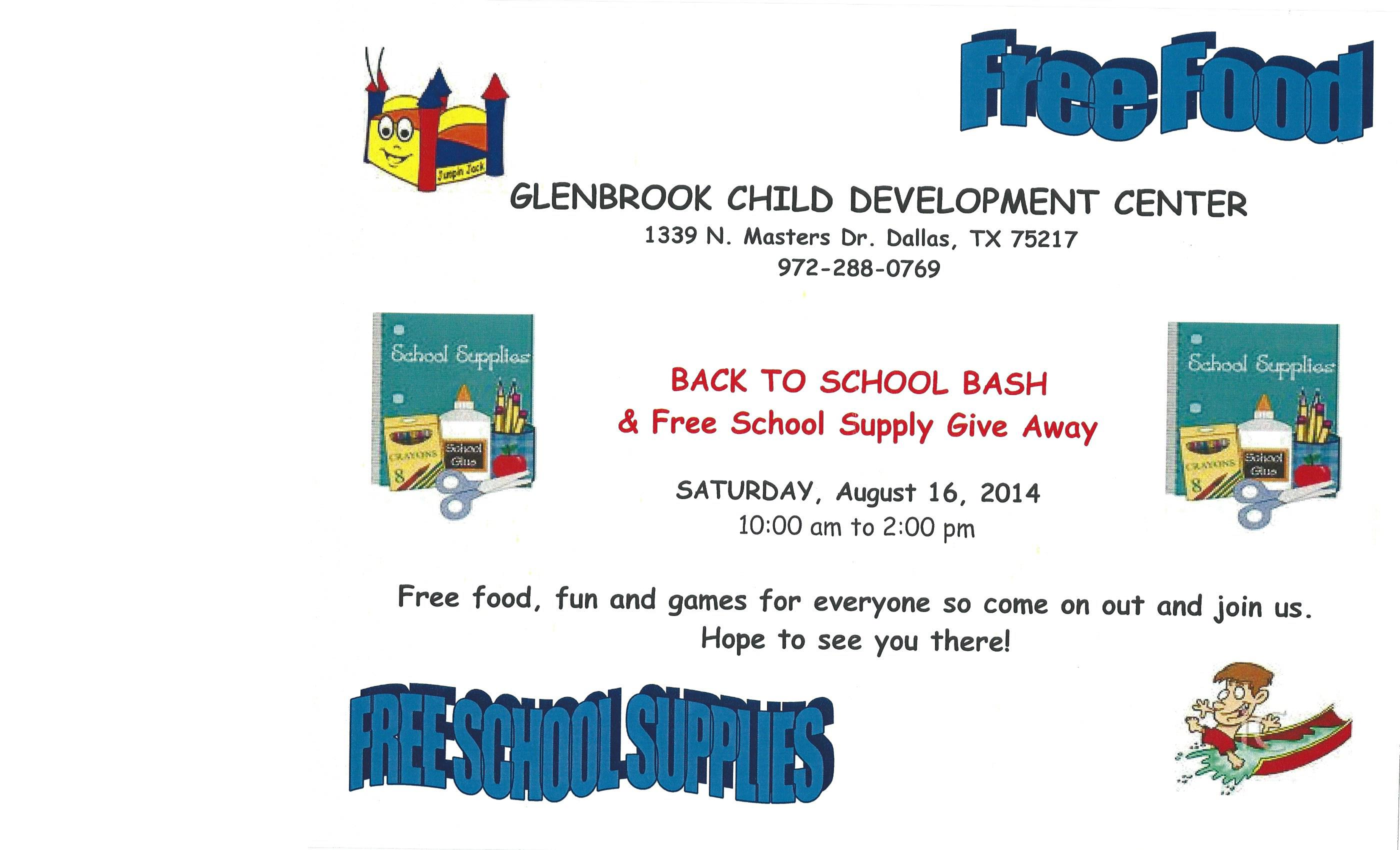 Glenbrook Back 2 School 2014