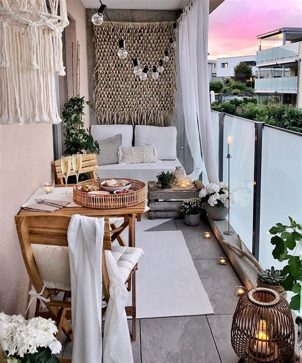 27 Comfy Balcony Ideas For Small Apartment Unique Balcony Garden Decoration And Easy Diy Ideas