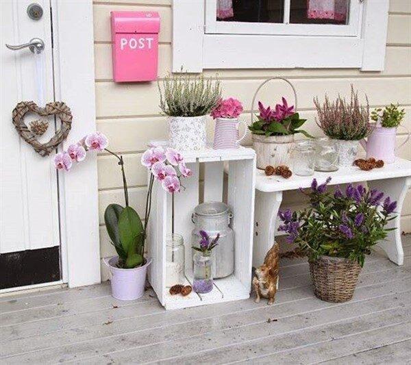 Diy Wooden Crate For Balcony Garden Unique Balcony Garden Decoration And Easy Diy Ideas
