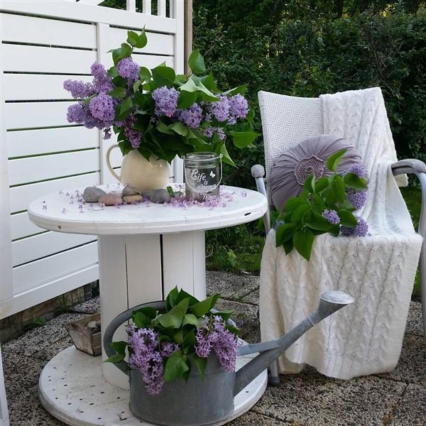 Diy Cable Spool Repurpose Ideas For Balcony Decoration Unique Balcony Garden Decoration And Easy Diy Ideas