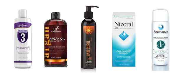 5 Best Hair Loss Shampoos for Men & Women That Work [May 2018]