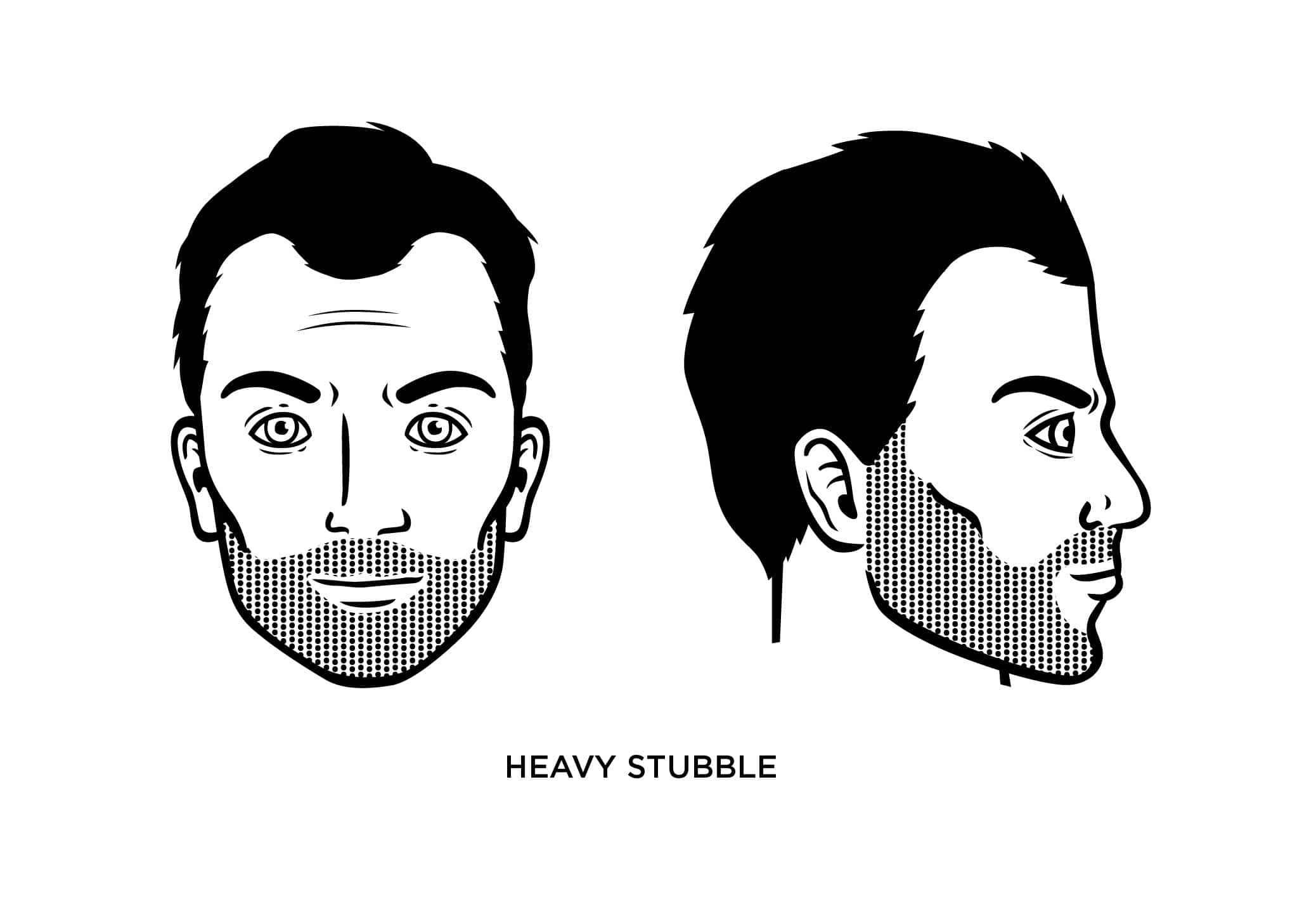 The Heavy Stubble Look How To Maintain Guide Examples