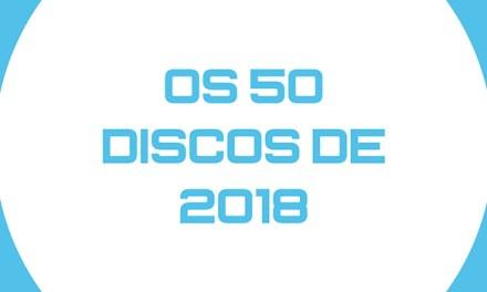 Os 50 discos de 2018