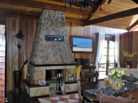 Kamin in der Villa