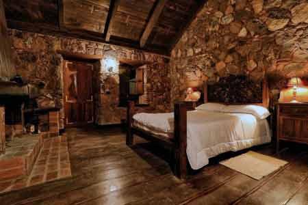 Schlafzimmer Hotel Rural Caserio
