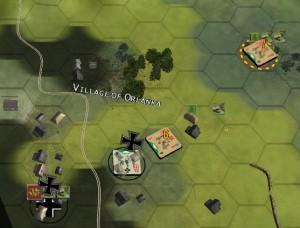 (fig.11) Contrattacco Russo al villaggio