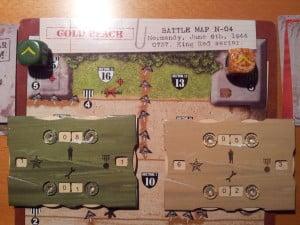 Fine di una partita con mio figlio Massimo, i bunker sono conquistati... e avanza anche qualche uomo!