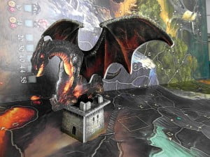 Drago Nero campeggia sulla Torre...