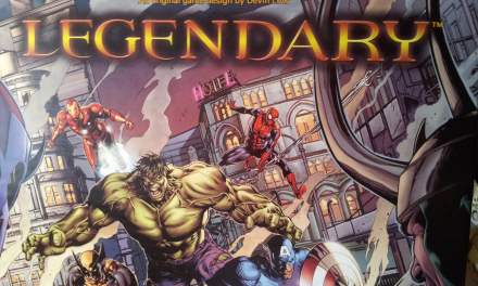 Legendary Marvel Deck Building Game