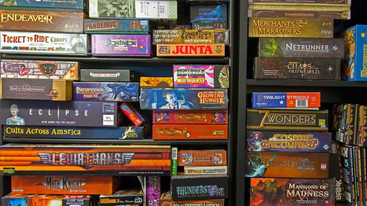 La mappa dei giochi