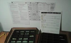 Un sacco di tabelle da consultare (come nella maggior parte dei wargames).
