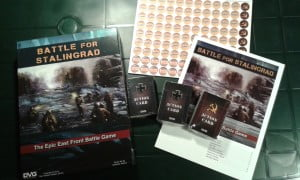 Il contenuto della scatola di Battle for Stalingrad.