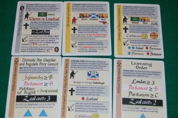 Le carte evento.