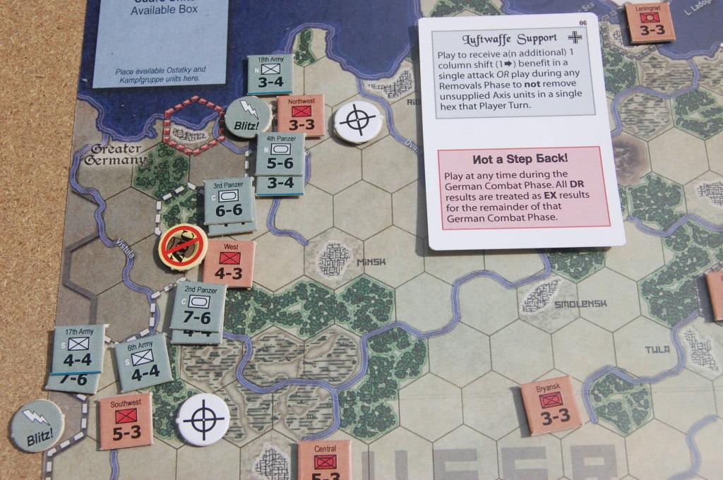 Primo turno di Barbarossa.