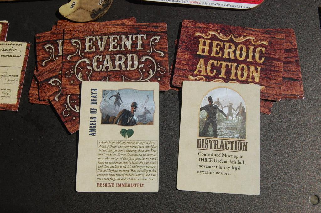 Esempio di Carte Evento e di Azione Eroica