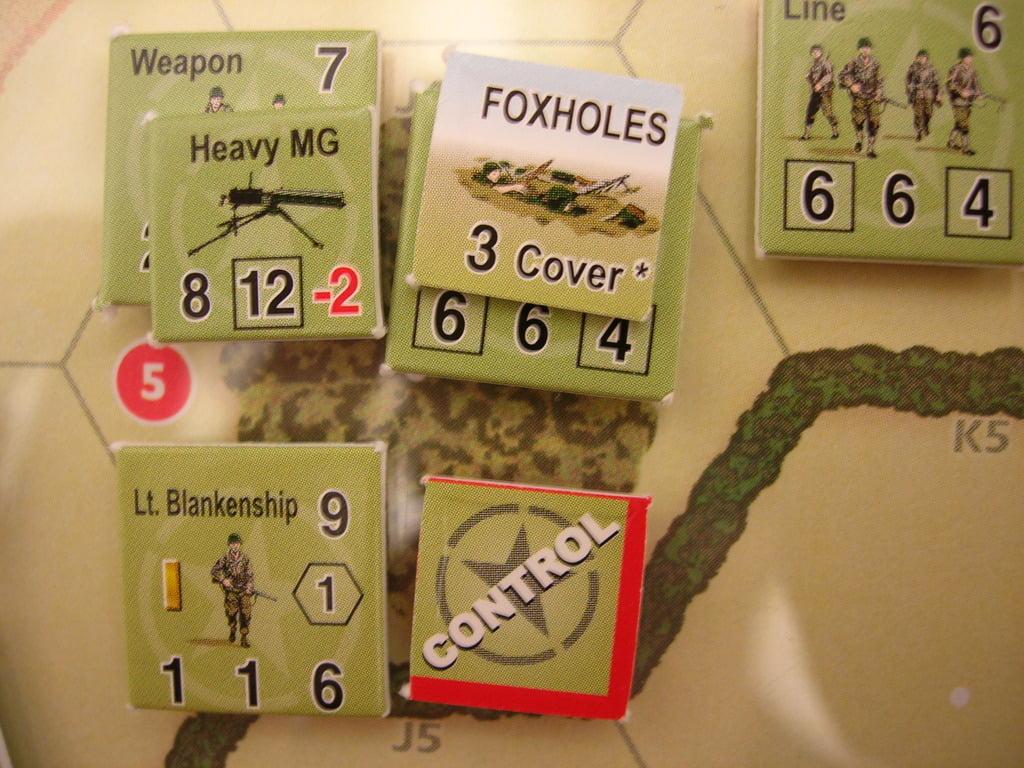 Combat Commander - dettaglio delle pedine.