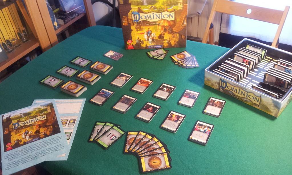 Setup di una partita per due giocatori.