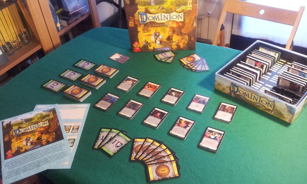 Setup di una partita per due giocatori