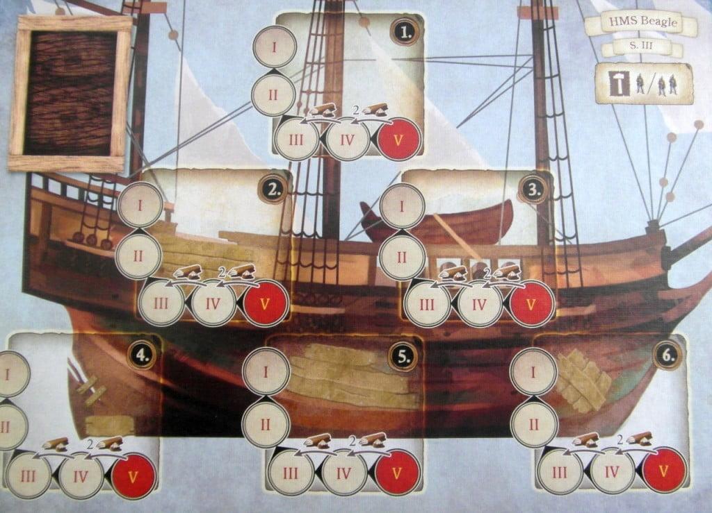 Plancia del Beagle rappezzato da usare nel terzo scenario.