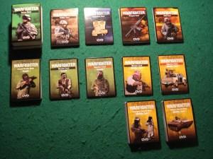 I mazzi di carte del gioco base.