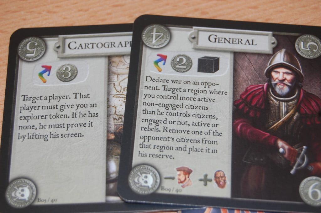 Le 40 carte civiltà introdotte dall'espansione Guerra e pace introducono spesso interazioni al veleno...