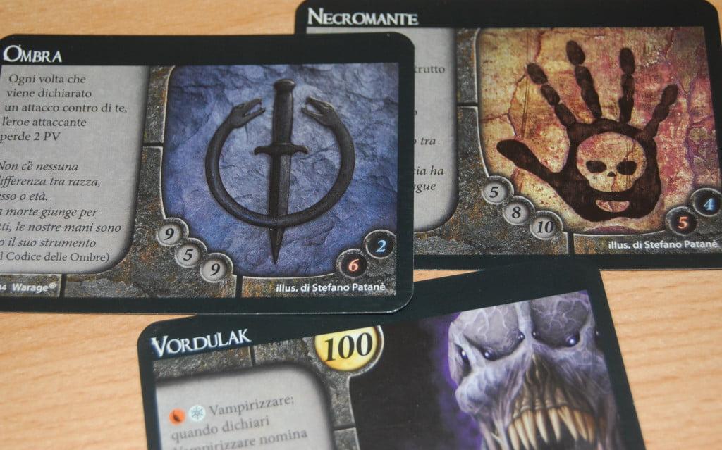 Vordulack e le classe introdotte (necromante ed ombra)
