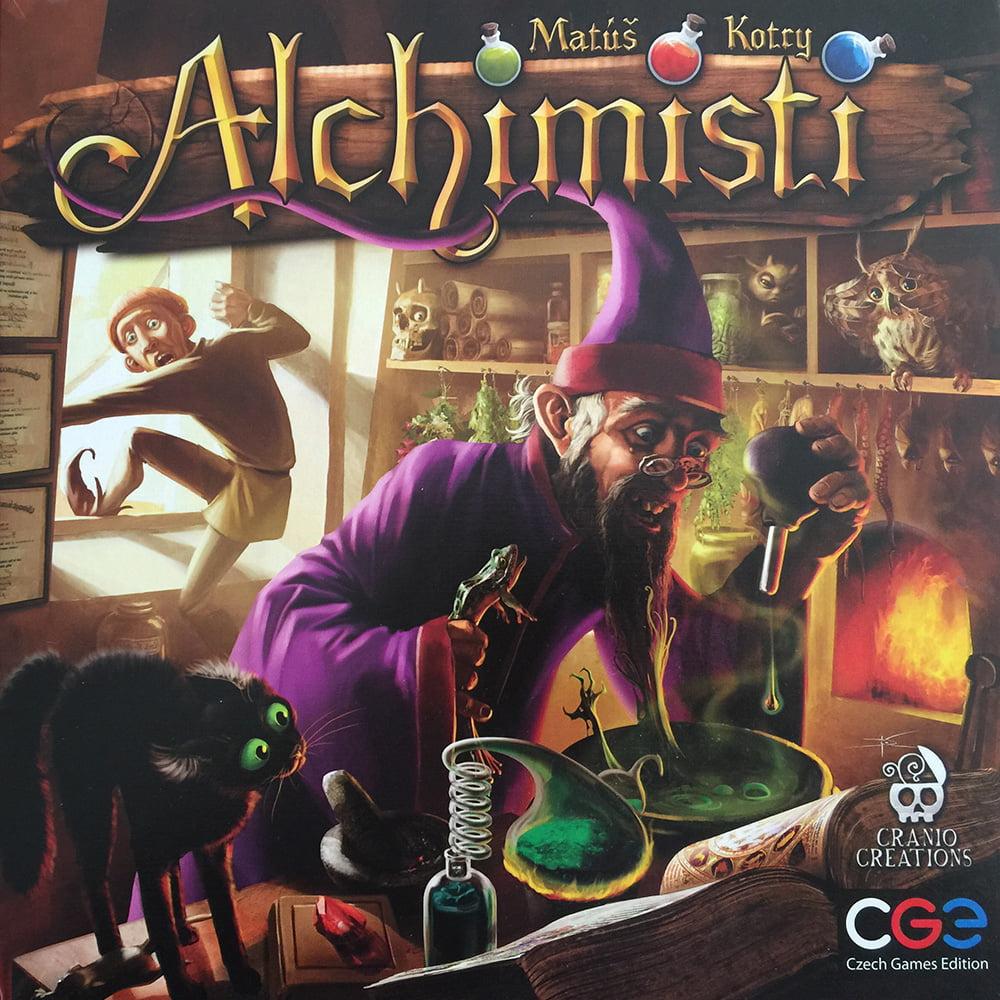La copertina mette subito in evidenza lo stile del gioco.