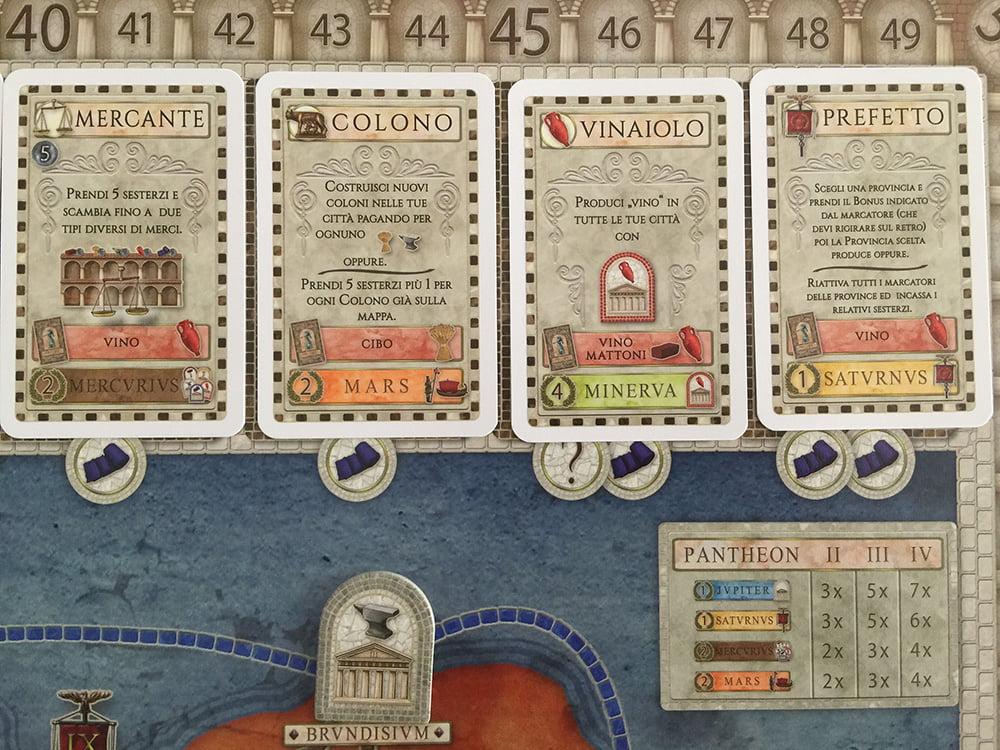 Il giocatore giallo - noto enologo - è fortemente tentato dall'acquisto del Vinaiolo.