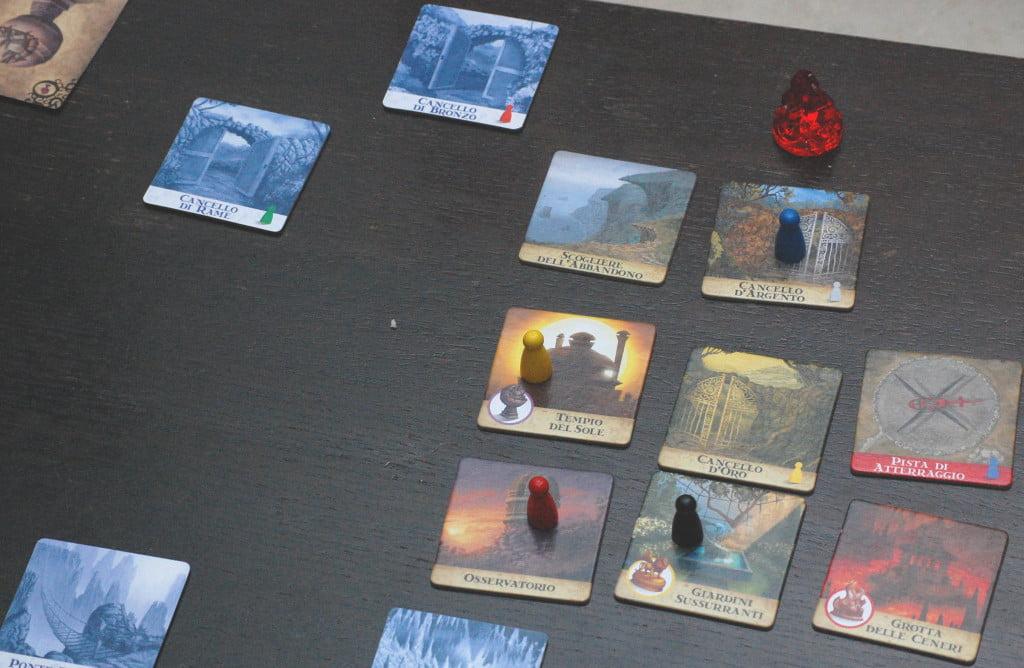 I personaggi cercano di difendere la zona di isola nei pressi della pista di atterraggio.