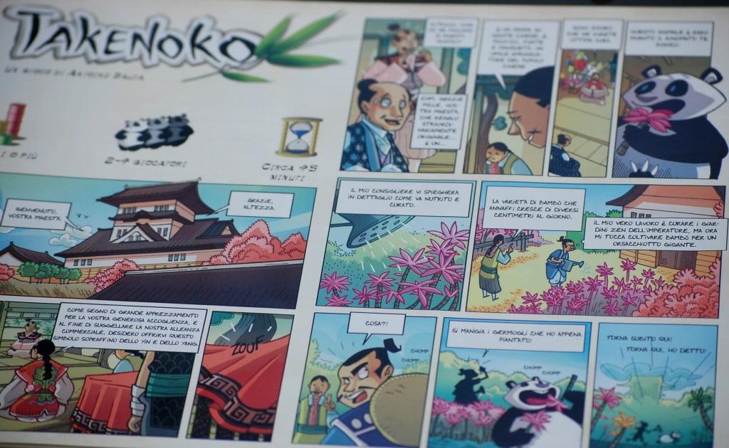 La storia di Takenoko
