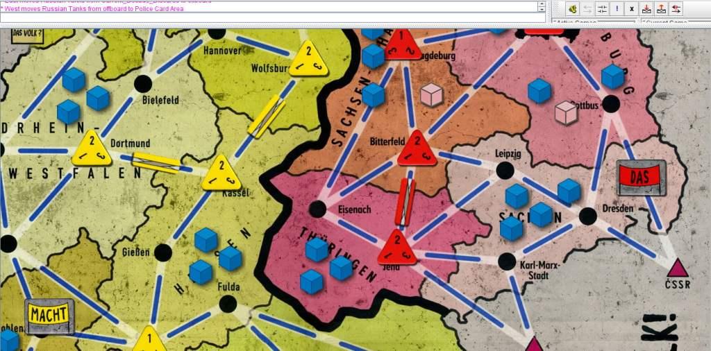 Il gioco dispone di un modulo Vassal che permette al gioco di essere giocato a distanza.