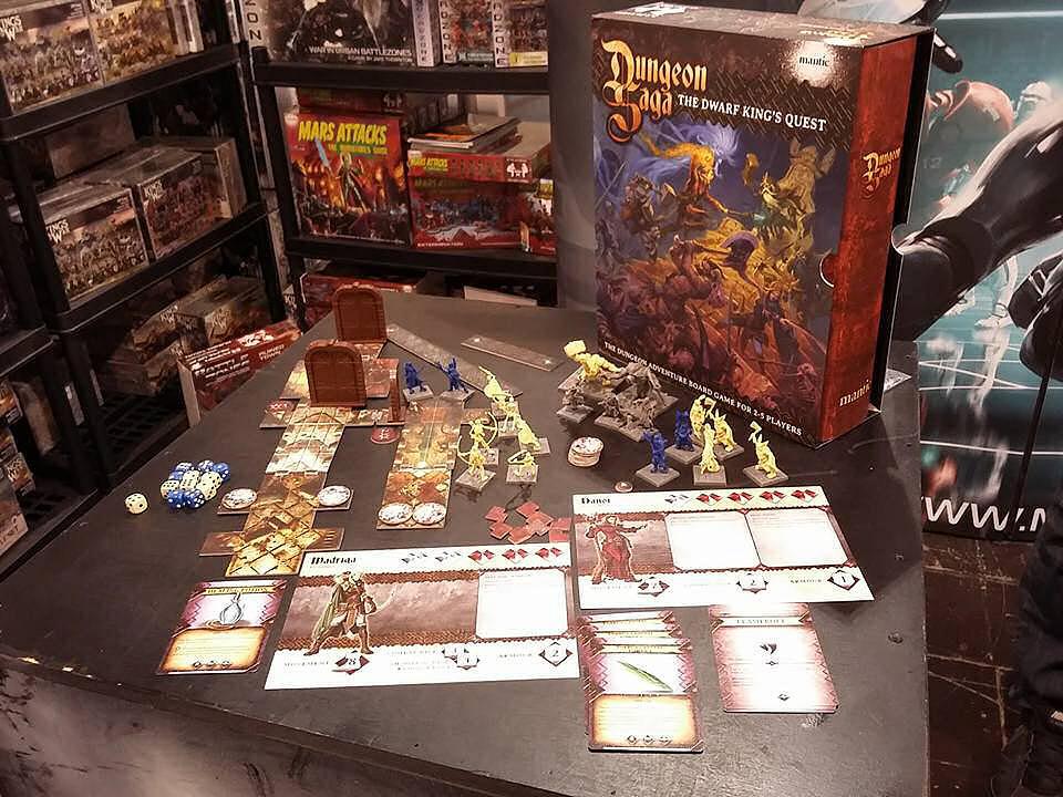 Dungeon Saga fa bella mostra di se ad Essen 2015