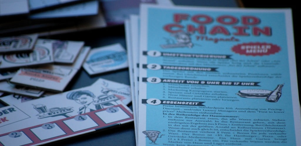 menu/game aid