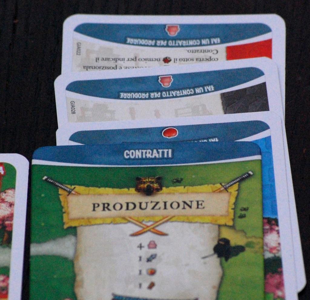 Carte Razza utilizzate come contratti