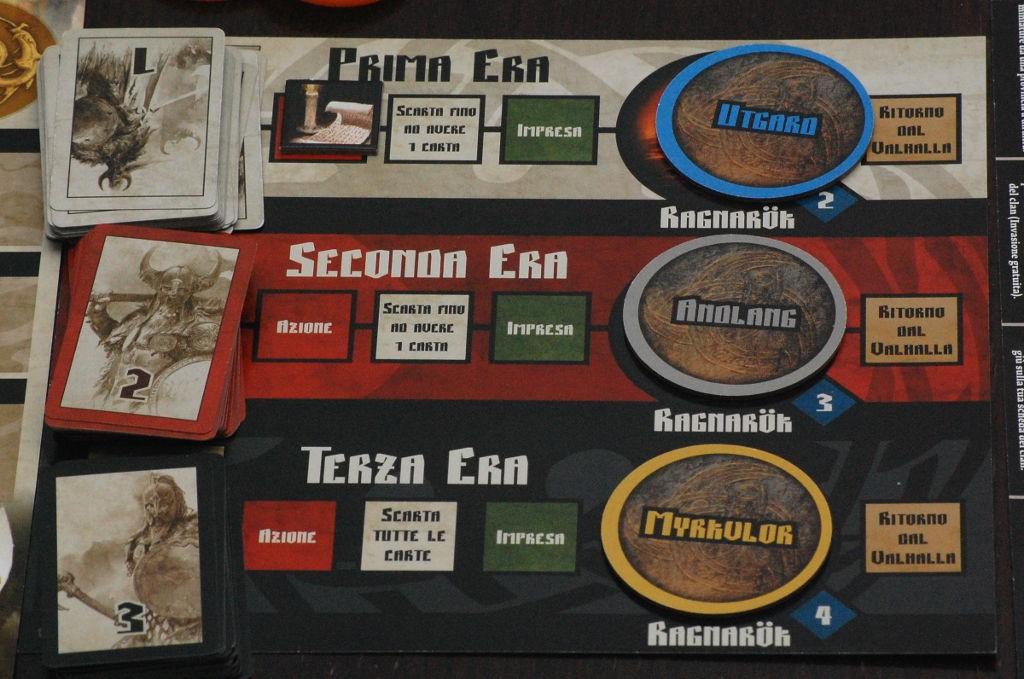 I tre turni di gioco