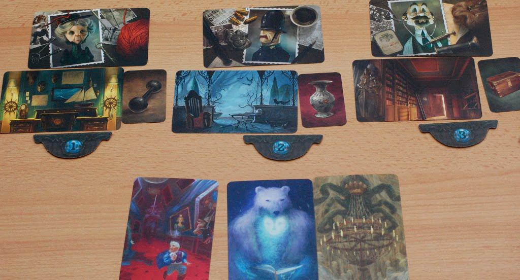 [Mysterium] l'ultima fase è in atto. il colpevole è quello centrale. Voi lo avreste indovinato con le carte sogno mostrate dal Fantasma?
