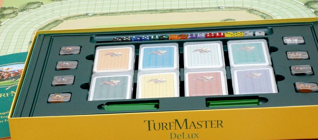Perfetto ordine tedesco e materiali di qualità per Turfmaster