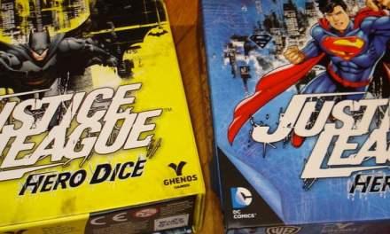 Justice League Hero Dice: Superman & Batman