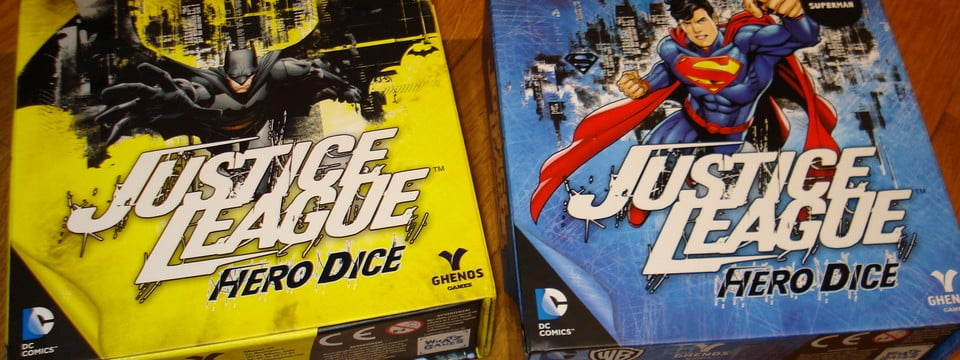 Justice League Hero Dice: Superman & Batman