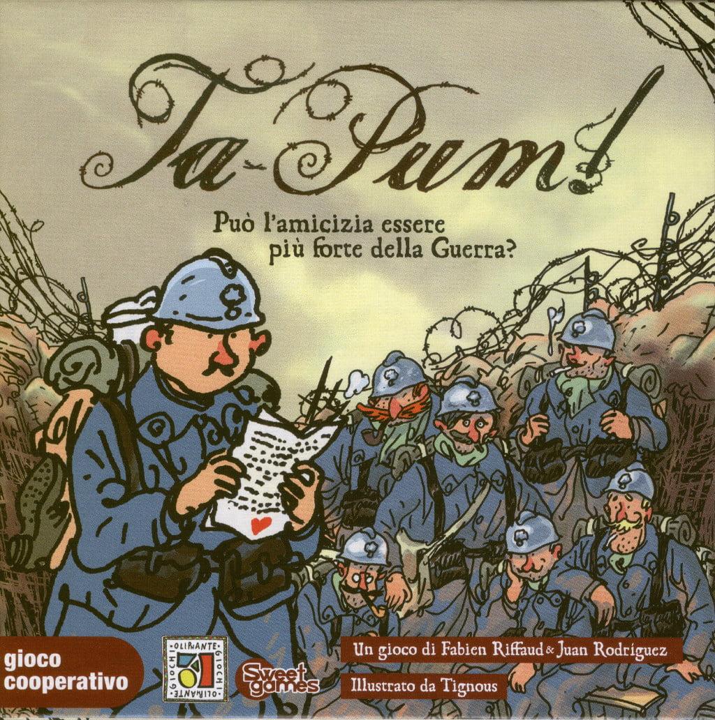 La scatola del gioco: non fatevi ingannare dalle apparenze: la guerra non è la protagonista