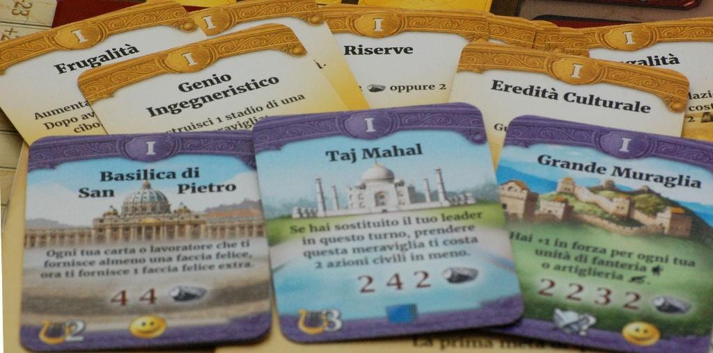 Le carte civilizzazione: da accessorio importante dei primi civ-games a cuore e motore del gioco.