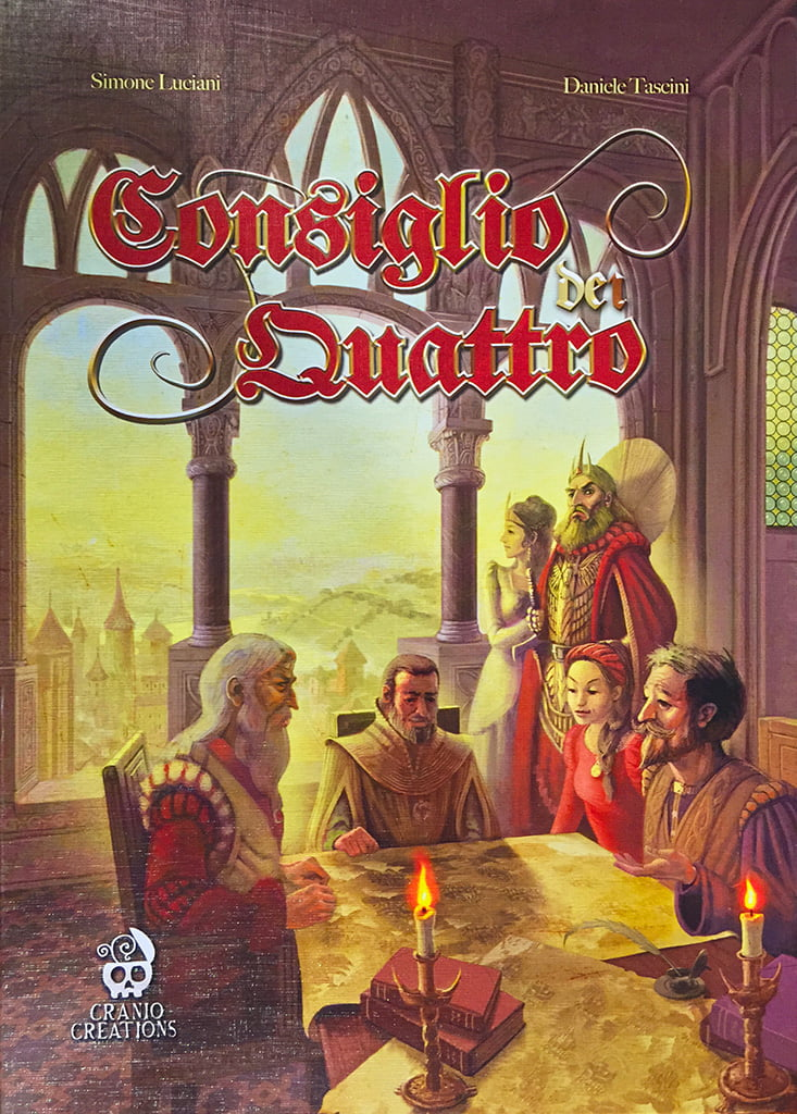 La copertina del gioco.