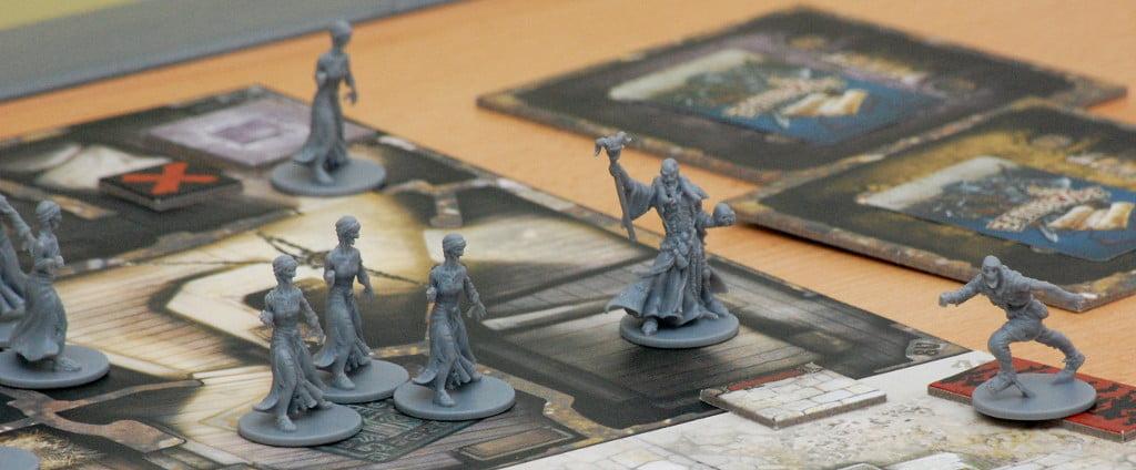il Necromante: posa quasi da Games Workshop
