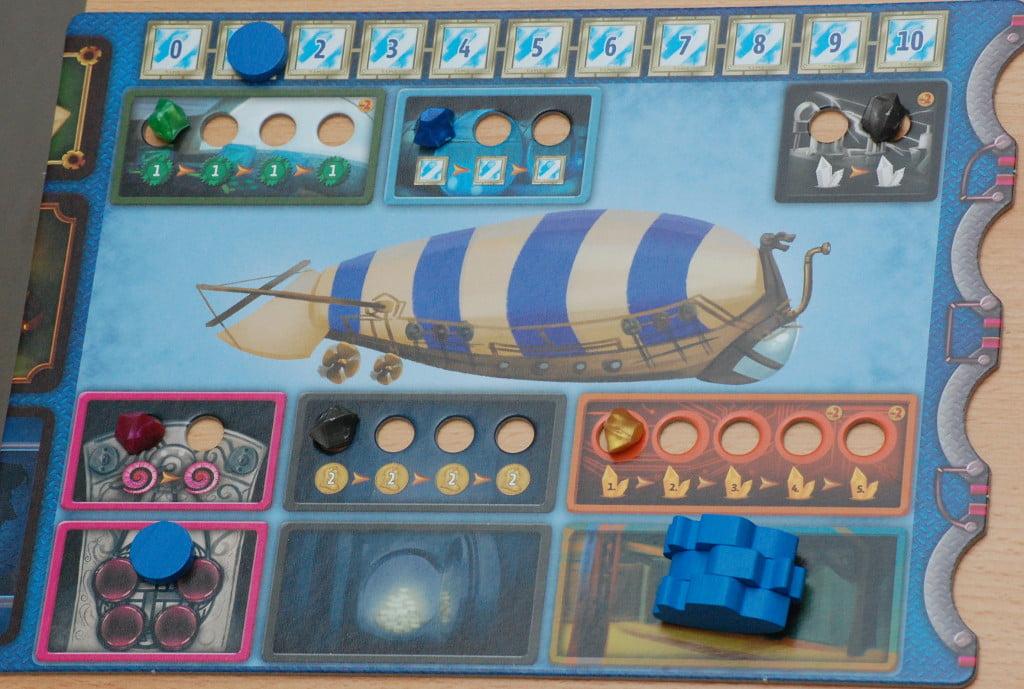 Plancia del giocatore: bella e colorata, ma non troppo innovativa.