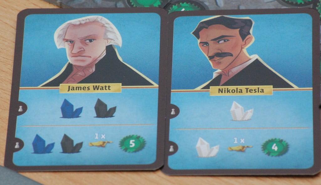 Le carte personaggio garantiscono bonus spesso cospicui, ma non determinabili a priori.