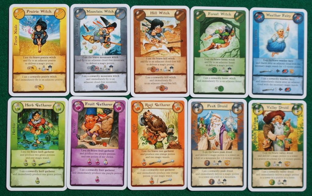 le carte di ogni giocatore